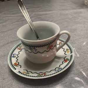 12 piece VINTAGE CHINA PORCELAIN TEA SET